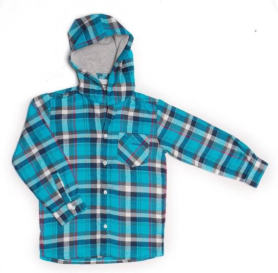 Camisa De Viyela Petroleo