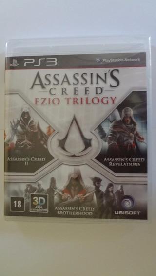 Assassins Creed Ezio Trilogy Ps3 Novo E Lacrado