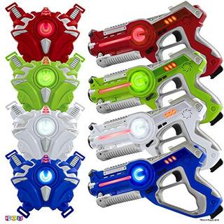 Play22 Juego De Etiquetas Láser Para Pistola Juego De Etiq