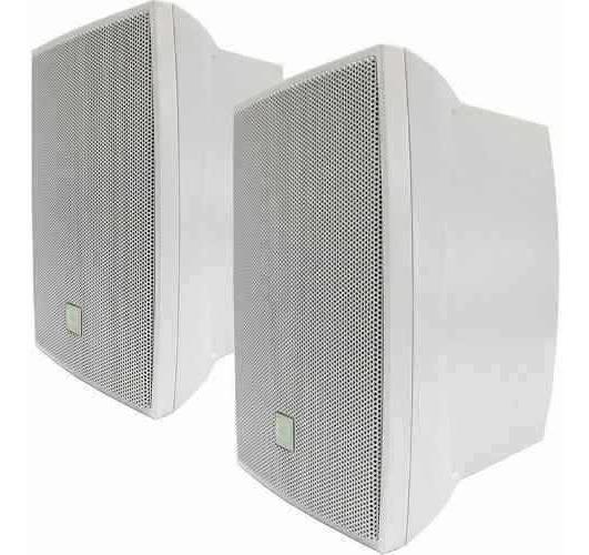 Caixa Som Ambiente Jbl Selenium C521 Par Branco C 521 80w