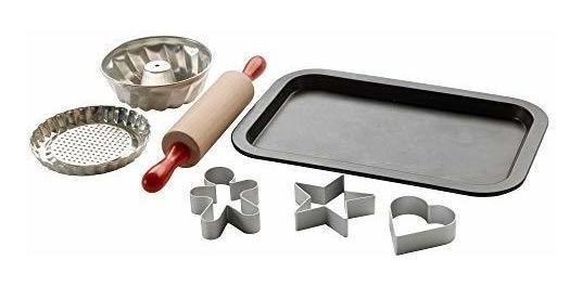 Duktig 201.301.66 Ikea 7piece Juguete Horneado Set, Multicol