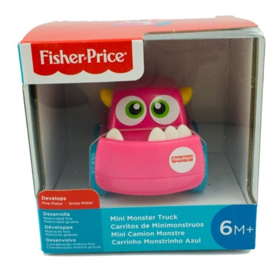 Fisher Price Carrito De Mini Monstruos Mattel