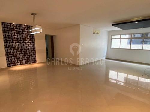 Apartamento Com 3 Suítes 175 M² 2 Vagas De Garagem - Cf66660