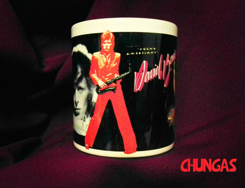 Imagen 1 de 4 de Taza David Bowie Young Americans / Chungas!