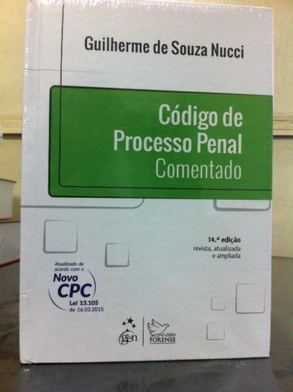 Código De Processo Penal Comentado - 14ª Ed. 2015