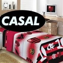 Edredom Flamengo Casal 1 Edredom+2 Travesseiro+2 Fronha