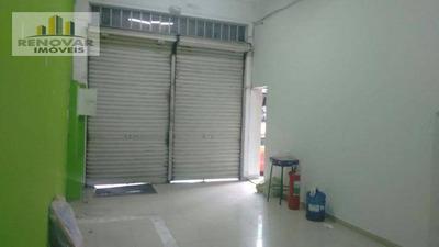 Salão Comercial Para Locação, . - Sl0011