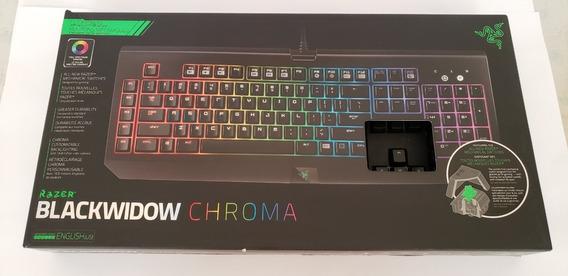 Teclado Mecânico Razer Blackwidow Chroma Rgb Switch Verde