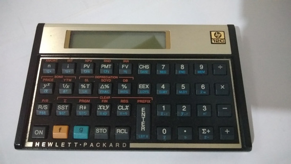 Calculadora Financeira Hp C12 Gold