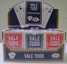 12 Cxs-baralho Copag Vale Tudo - Virgem Original C/ 12 Jogos