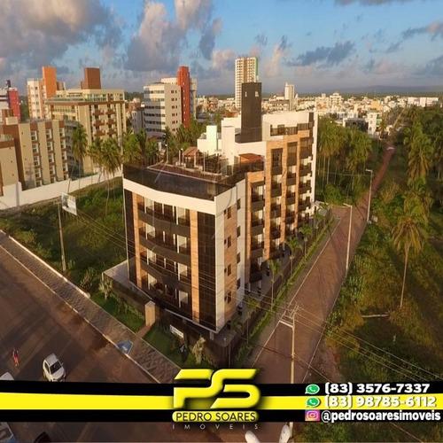 Apartamento Com 2 Dormitórios À Venda, 69 M² Por R$ 487.000 - Intermares - Cabedelo/pb - Ap3005