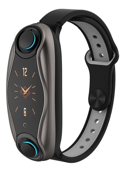 Reloj Inteligente T90 2 En 1 Con Audífonos Tws Bluetooth 5.0
