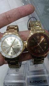 Relógios Lince Banhado A Ouro Original