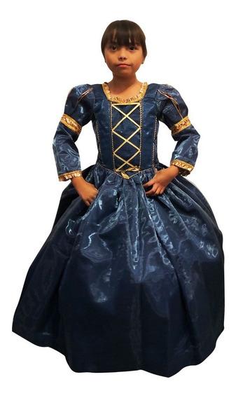 Vestido Merida Valiente Talla 10 Y 12 Envío Gratis