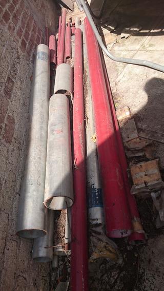 Tubo Ced 40 De 6 X 3m Galvanizado