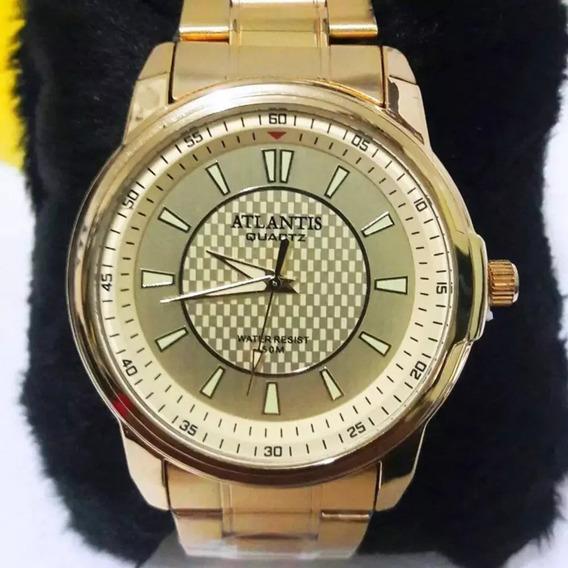 Relógio Feminino Dourado Frete Gratis