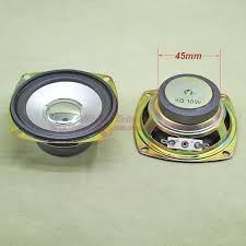Mini Alto Falante De 4 Homs 10 Watts