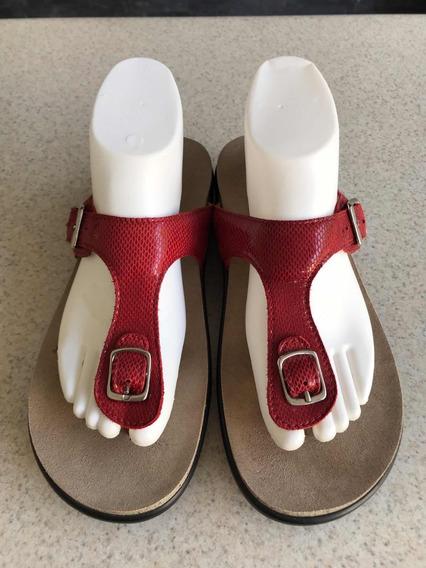 Preciosas Sandalias Para Dama De La Marca Sas Originales