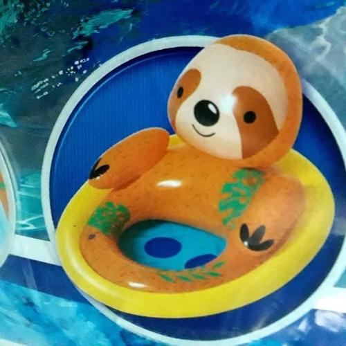 Flotador , Salvavidas Silla Inflable Para Bebes De Animalito