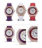 5 Relógios Feminino Analógico Quartz