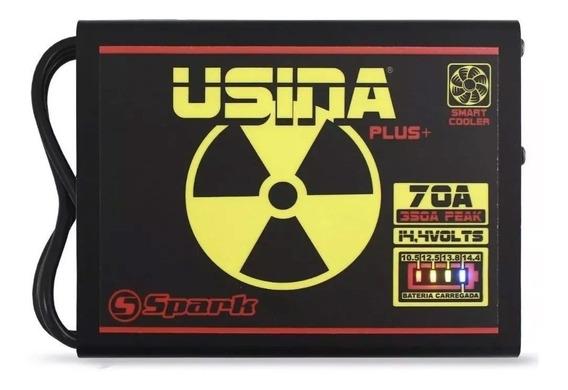 Fonte Carregador Automotivo Usina 70a Plus 12v Battery Meter