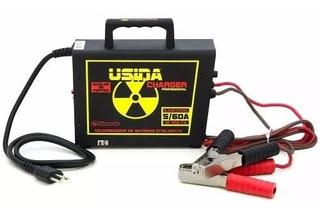 Carregador Bateria Fonte Usina Charger 60a 14.4v Regulador
