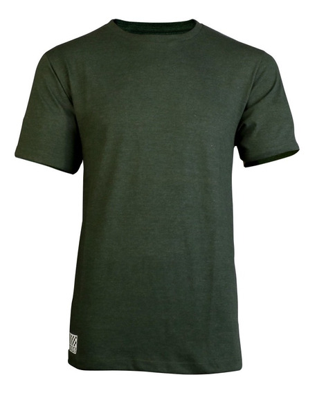 Remera Vans Patch Kit Logo 66 Verde Hombre
