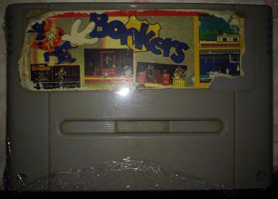 Cartucho Super Nintendo Snes Jogo - Bonkers - Paralelo