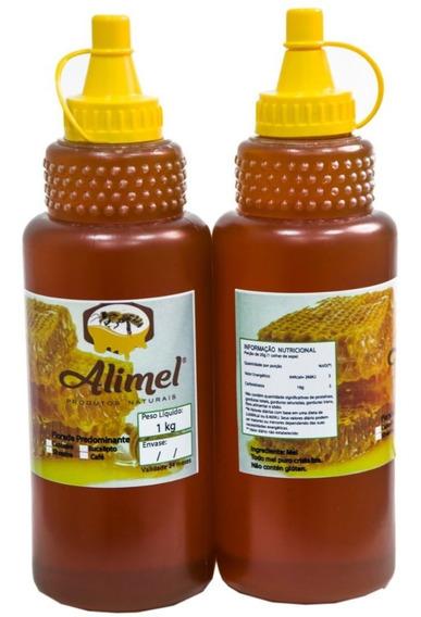 Mel Puro De Abelhas - 8 Bisnagas De 1 Kg - Preço Baixo