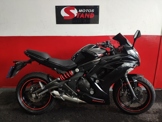 Kawasaki Ninja 650 R 650r 2013 Preta Preto