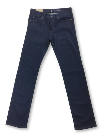 7 For All Mankind Slimmy Luxe Performance Rinse Jeans En Azu
