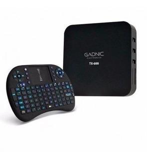 Tv Box Gadnic Full Hd Tx600 Con Mini Teclado