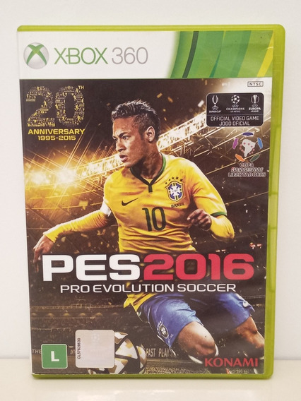 Pes 2016 Xbox 360 Pro Evolution Soccer Midia Física Original