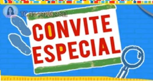 Convite Animado Dpa - Detetives Do Prédio Azul Em Video