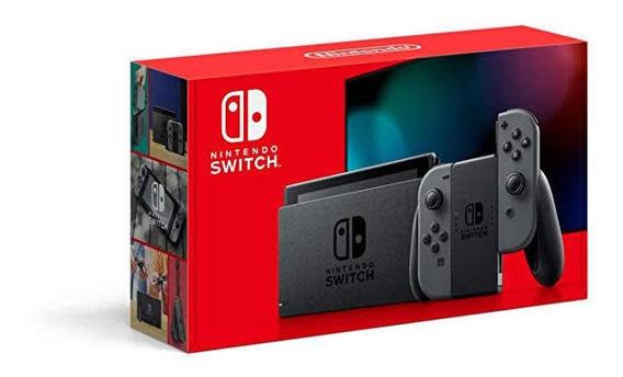 Console New Nintendo Cinza Switch 2019