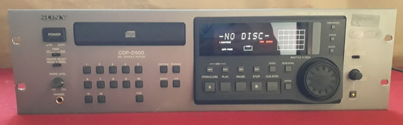 Sony Compact Disc Player Cdp-d500 Profissional