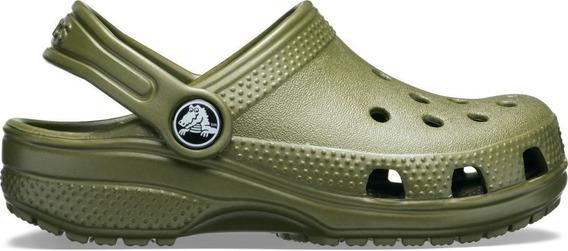 Crocs Classic Clog Kids Army Green