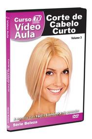 Dvd Corte De Cabelo Curto Videoaula - Original + Brinde