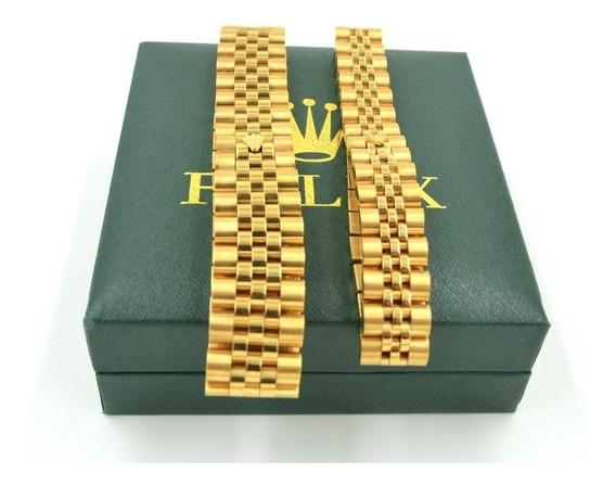 Anillo Rolex 18 K Con Certificado