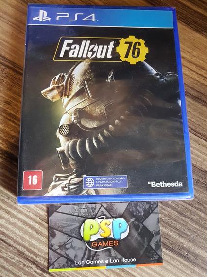 Fallout 76 - Ps4 - Midia Fisica! Novo Lacrado