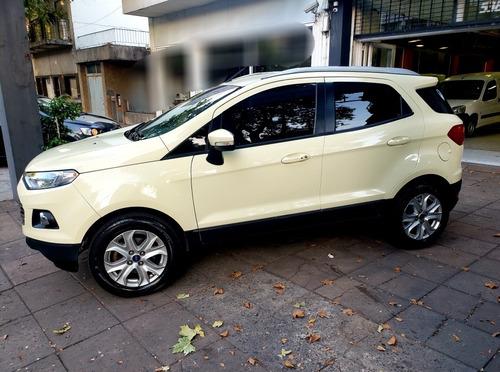 Ford Ecosport Titanium 1.6 2014 Unica Mano