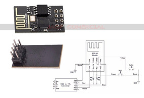 Módulo Wi-fi Esp8266 Esp-01 Arduino Mega Uno Pic