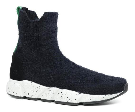 Tênis Sock Sneaker Farm Esporte Em Pelo