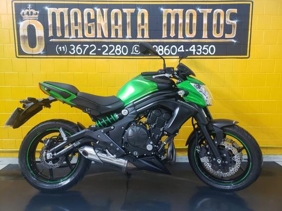Kawasaki Er 6n - Verde - Ano 2015 - Km 19.000