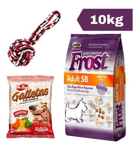 Imagen 1 de 2 de Frost Adulto Sb 10 Kg + Juguete Cuerda + Snacks + Envío!
