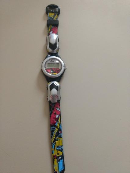 Mini Relógio Infantil P/meninos/resistentes A Água/novos
