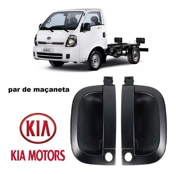 Kit De Maçaneta Puxador De Porta Externa Lado Direito E Esquerdo Kia Bongo 2008 2009 2010 2011 2012 2013 2014 2015 2016