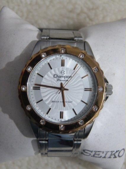 1 Relógio Champion Fem. Quartzo Mod.ch22241 Cxa 39 M