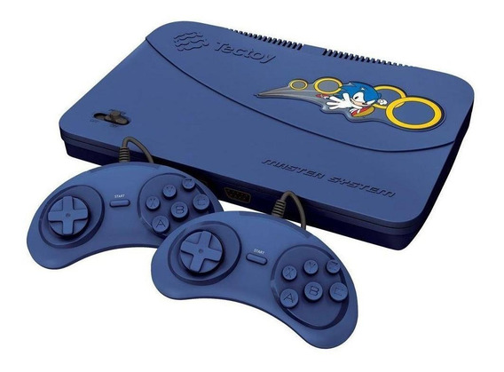 Console Tectoy Master System Evolution azul