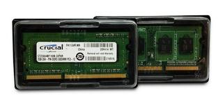 Memoria Ram 4gb(2x2) Ddr3l Crucial 1600mhz Envío Inmediat /a